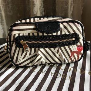NWOT Henri Bendel Leather Cosmetic Bag!
